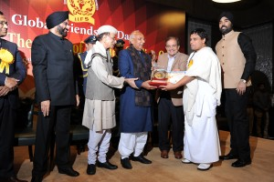 Acharya ji-Bharat Gaurav Award
