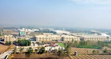 Aerial view of Patanjali Food & Herbal Park Ltd. (1)
