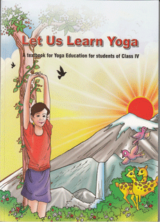 Book Let-us-Learn-Yoga---Class-IV---English