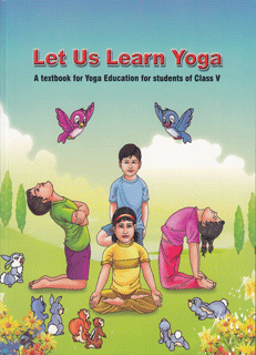 Book Let-us-Learn-Yoga---Class-V---English